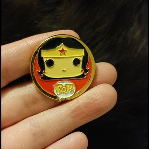Wonder Woman Funko Pop Pin